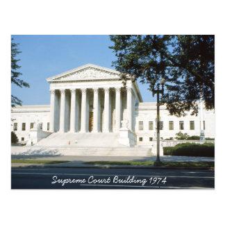 Postal del edificio del Tribunal Supremo