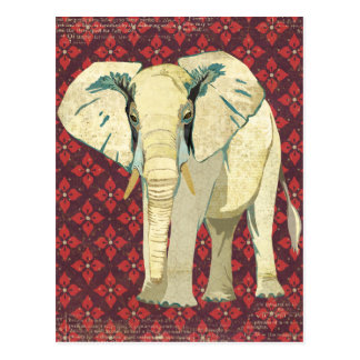 Postal del elefante blanco