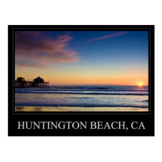Postal del embarcadero de Huntington Beach