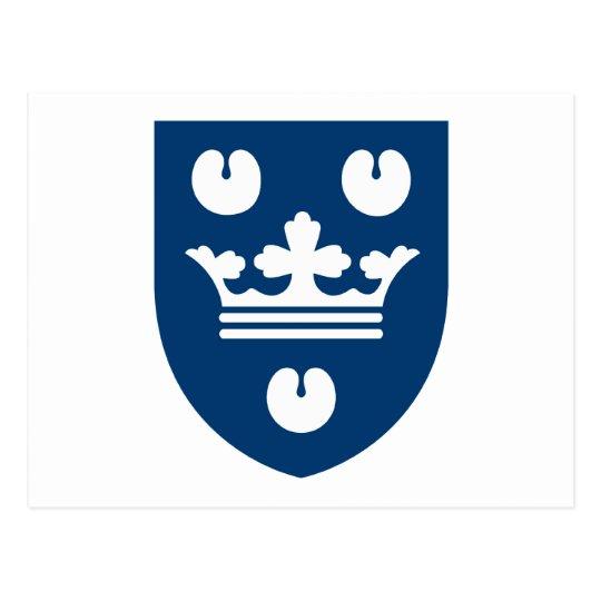 Postal del escudo de armas de Copenhague