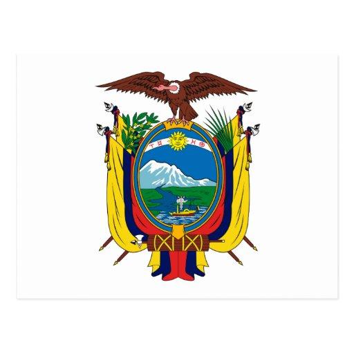 escudo de ecuador Colouring Pages