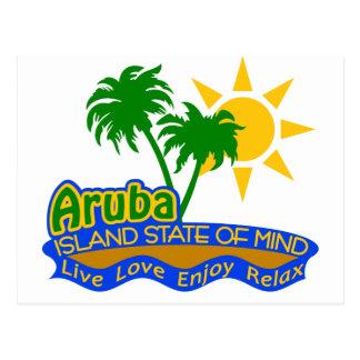 Postal del estado de ánimo de Aruba