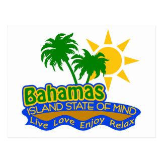 Postal del estado de ánimo de Bahamas
