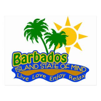 Postal del estado de ánimo de Barbados