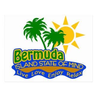 Postal del estado de ánimo de Bermudas