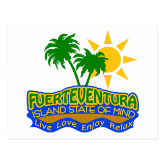 Postal del estado de ánimo de Fuerteventura