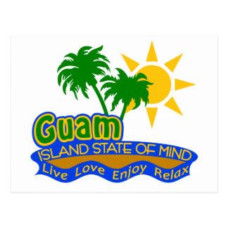 Postal del estado de ánimo de Guam