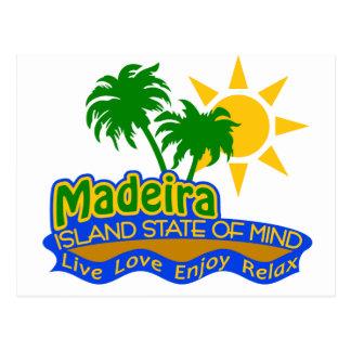 Postal del estado de ánimo de Madeira
