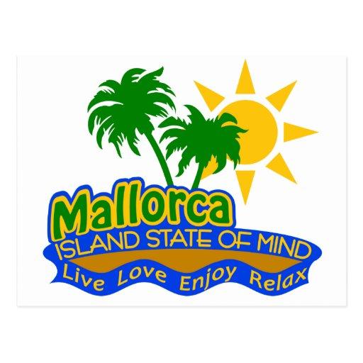 Postal del estado de ánimo de Mallorca