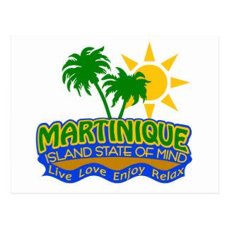 Postal del estado de ánimo de Martinica