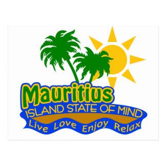 Postal del estado de ánimo de Mauricio