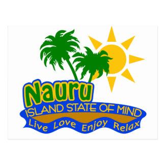 Postal del estado de ánimo de Nauru