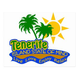 Postal del estado de ánimo de Tenerife
