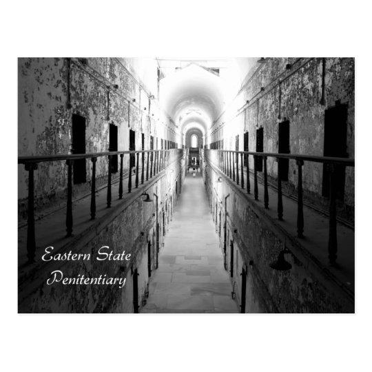 Postal del este de la cárcel del estado