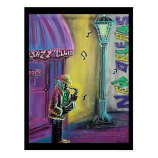 Postal del Fest del jazz de New Orleans