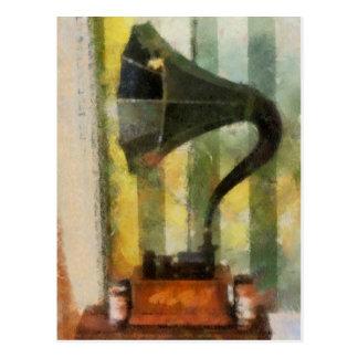 Postal del fonógrafo