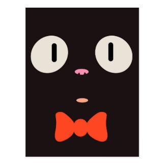 """""""Postal del gato de la bruja"""" (3/3) Postal"""