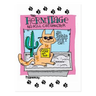 Postal del gato del gatito del habla del SE