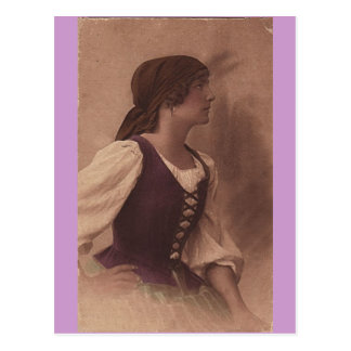 postal del gitano del victorian