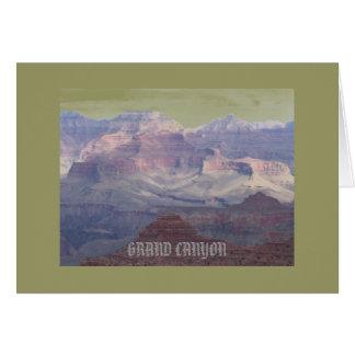 Postal del Gran Cañón Tarjeta Pequeña