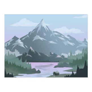 Postal del hogar del Mountain View