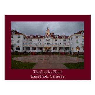 Postal del hotel de Stanley