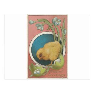 Postal del huevo de Pascua