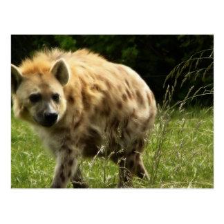 Postal del Hyena