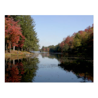 Postal del lago Adirondack