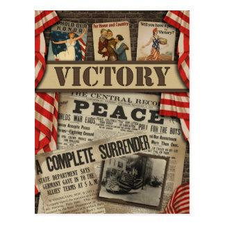 Postal del libro de recuerdos de WWI de la