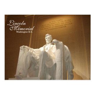 Postal del Lincoln memorial