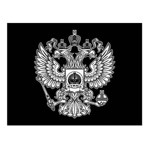 Postal del logotipo del escudo Strk3