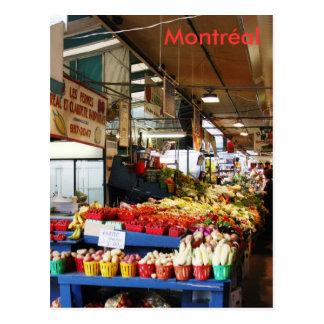 Postal del mercado de Montreal Atwater