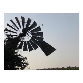 Postal del molino de viento 2