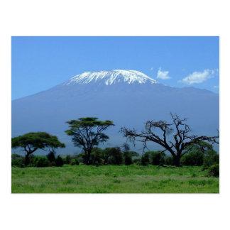 Postal del monte Kilimanjaro
