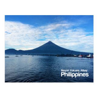 Postal del Monte Mayon Albay Filipinas