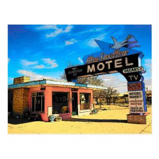 Postal del motel de la ruta 66 - modificada para r