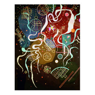 Postal del movimiento I de Kandinsky