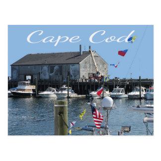Postal del muelle de Cape Cod Provincetown mA