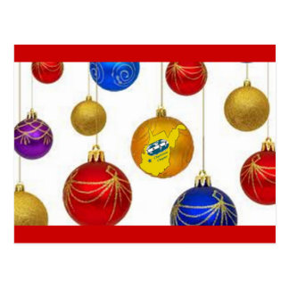 Postal del navidad de IAAP WV
