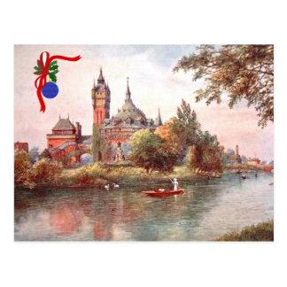Postal del navidad - Stratford-sobre-Avon