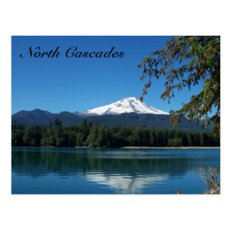 Postal del norte de las cascadas