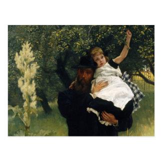 Postal del padre CC0016 de James Tissot