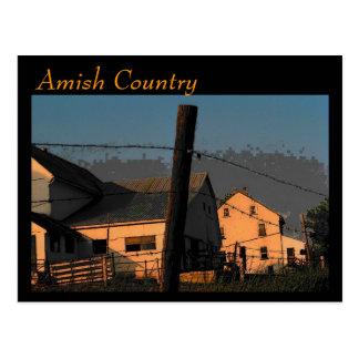 Postal del país de Amish (trueno)