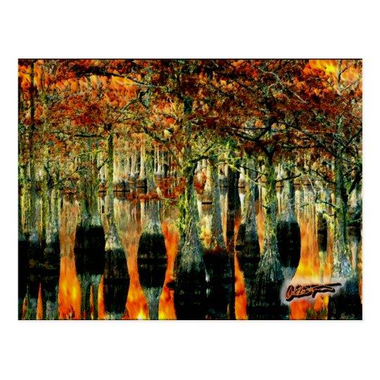 Postal del pantano - David A. Sargent Art