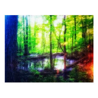 postal del pantano del faery