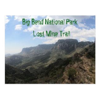 Postal del parque nacional de la curva grande