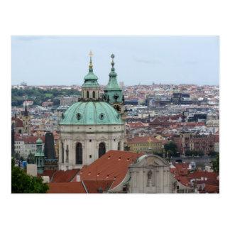 Postal del personalizado de Praga/de Praga