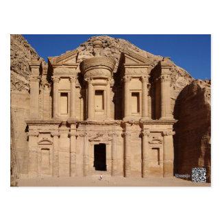 Postal del Petra Jordania