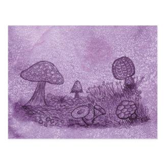 Postal del prado de los hongos